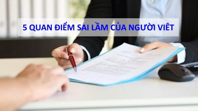 5 sai làm của người Việt khi tham gia bảo hiểm